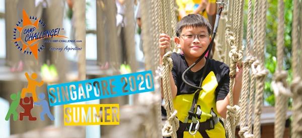 ซัมเมอร์สิงคโปร์ 2020 ที่เดียวในประเทศไทยที่จัดค่าย CAMP CHALLENGE! ใช้หลักสูตรเดียวกับนักเรียนสิงคโปร์